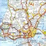 Mapa de Cascais, Estoril y Sintra