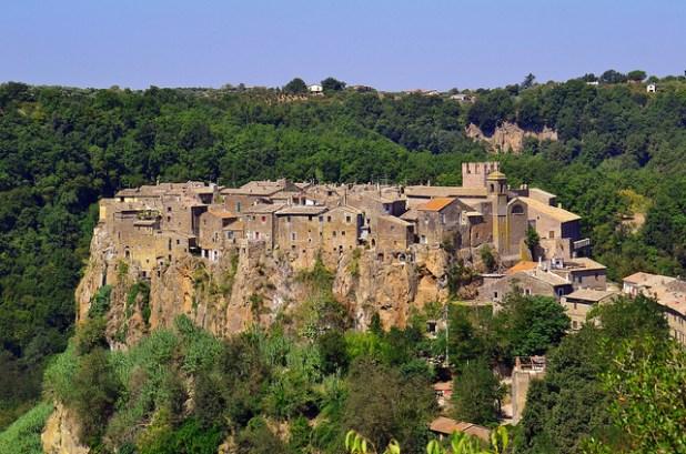 Calcata - Cerca de Roma