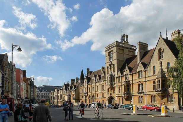 Broad Street Oxford