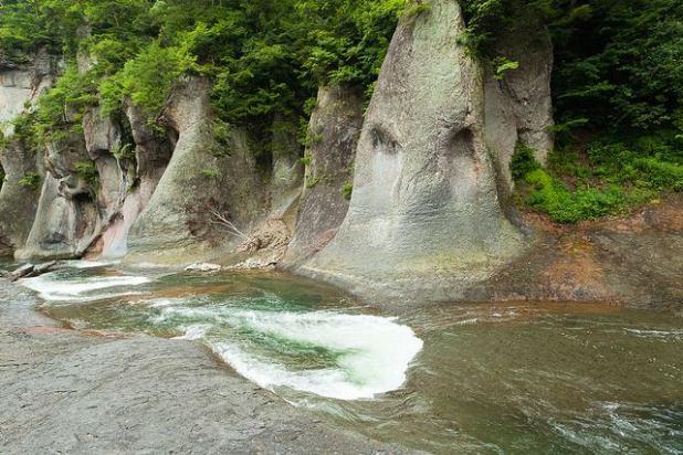 Fukiware waterfall trail Gunma