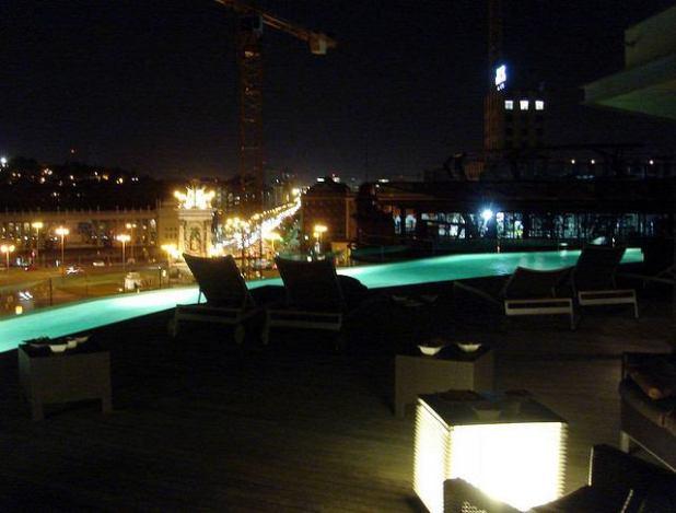 Hoteles Piscina exterior en Barcelona