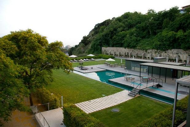 Hotel Barcelona piscina Miramar