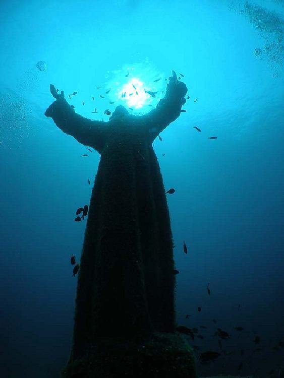Cristo sumergido de San Fruttuoso