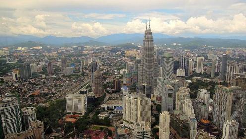Skyline Kuala Lumpur. Foto: David McKelvey