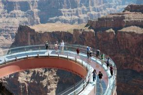 Skywalk en el Gran Cañón