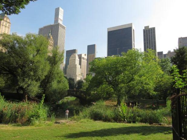 El puente de Gapstow en Central Park