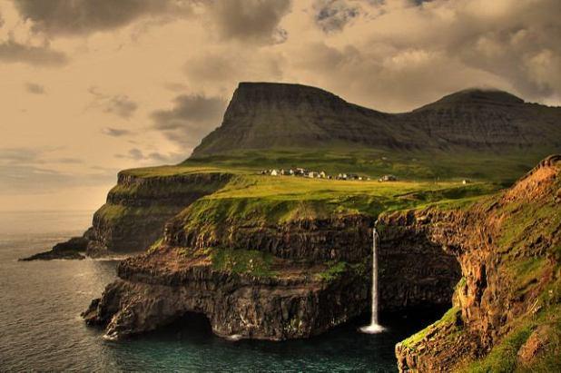 Gásadalur,Vagar Island (Islas Feroe)