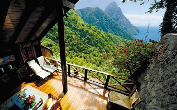 Ladera Resort, Santa Lucia
