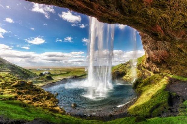 Catarata de Islandia