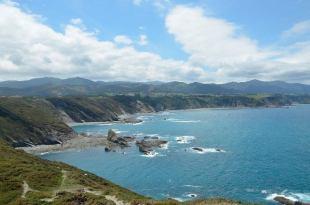 Impresionate línea costera de Asturias