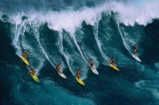 Surf en Hawaii