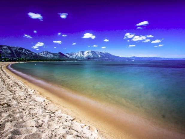 Lago Tahoe en EEUU