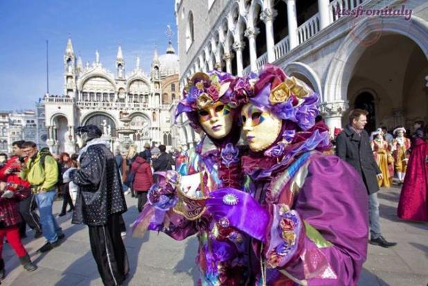 Máscaras del carnaval de Venecia
