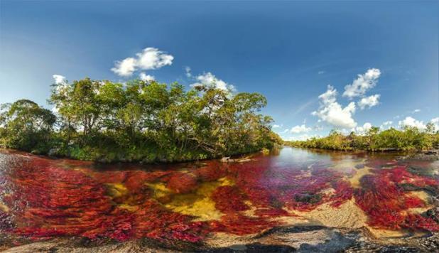 El Río de los 5 colores (Colombia)