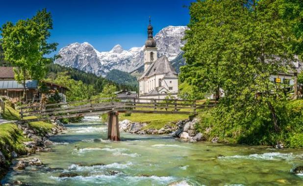 Iglesia St. Sebastian Ramsau