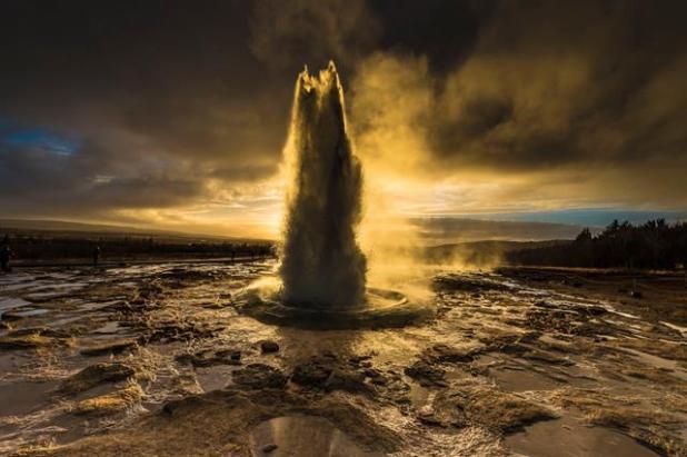 Islandia Geyser