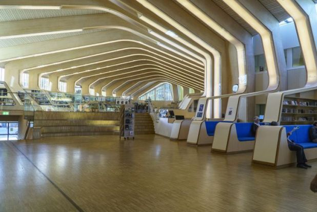 Biblioteca Vennesla, Noruega