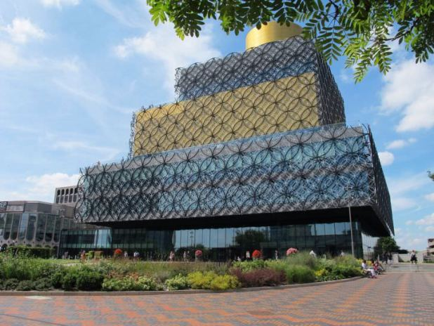 Biblioteca de Birmingham, Inglaterra