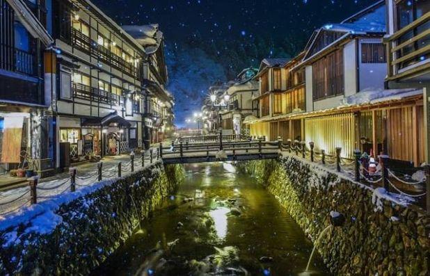 Ginzan Onsen, Yamagata