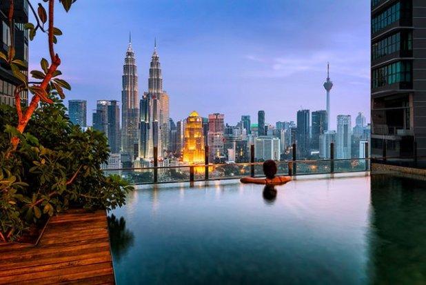 Piscina Infinita Kuala Lumpur, Malasia