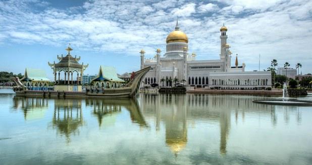 Sultan Omar Ali Saifuddien Mezquita Brunei