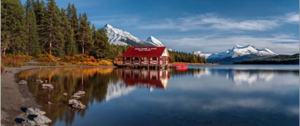 Lago Maligne (Canadá)