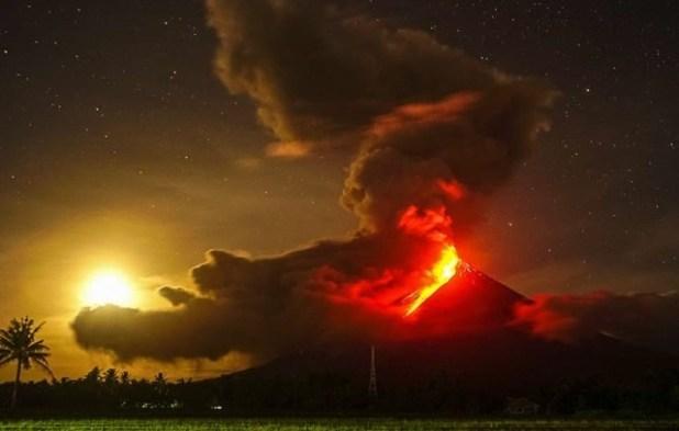 Volcán Mayon (Filipinas)