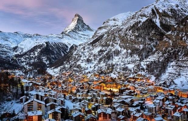 Matterhorn Zermatt Valle