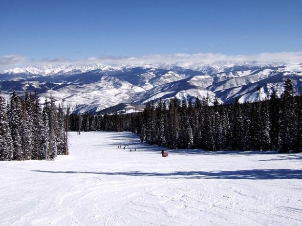Esquiando en Beaver Creek