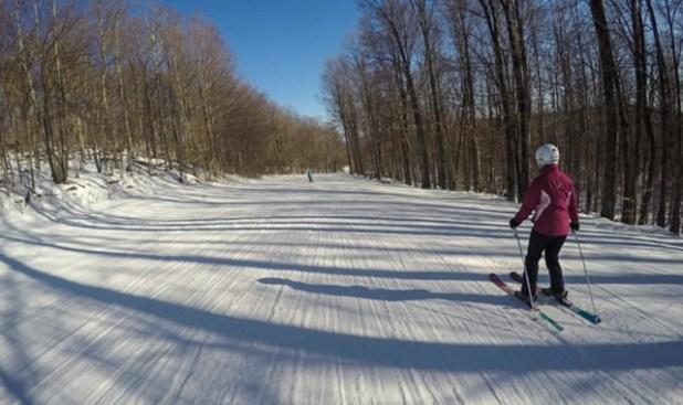 Esquiando en Gore Mountain (Nueva York)