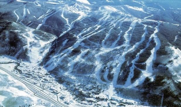 El pueblo de Vail en Colorado