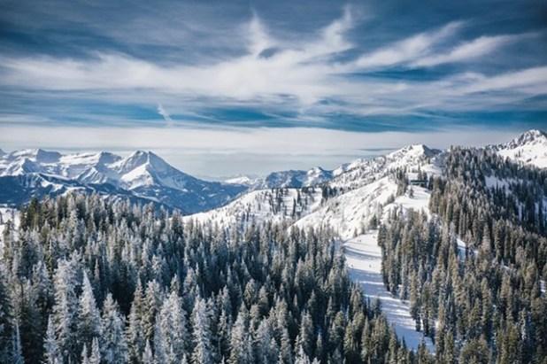 Esquiando en Brighton (Utah)