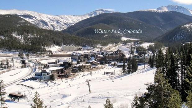 El pueblo de Winter Park (Colorado)