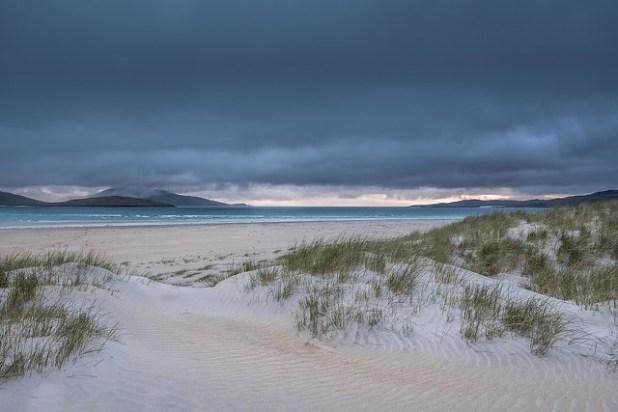 Luskentyre, Isla de Harris, Escocia
