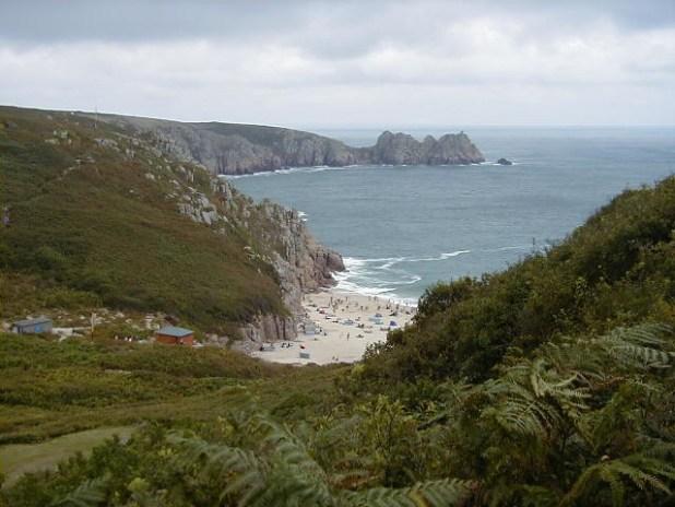 Porthcurno, Cornwall (Playa)