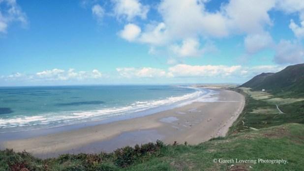 Playas de Rhossili Bay, Swansea