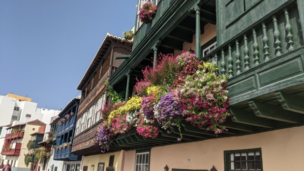 Balcones en Santa Cruz de La Palma