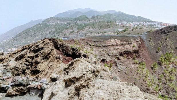 Cráter del Volcán de San Antonio (Canarias)