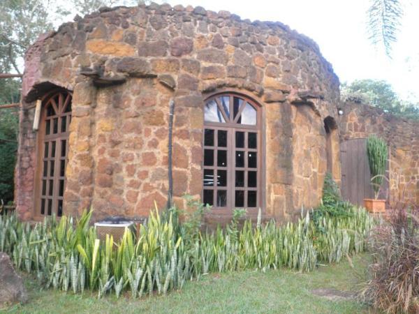 Casa de artesanías en La Aripuca