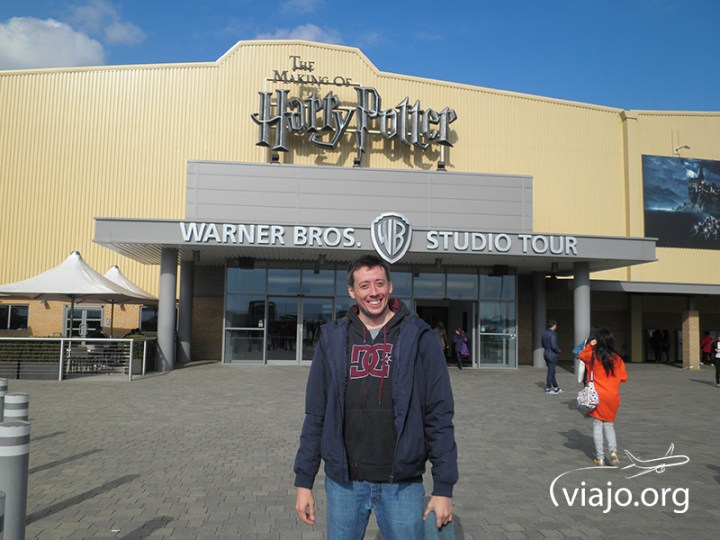 Por fin llegamos a Warner Bros. Studio: The Making of Harry Potter
