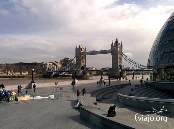 Tower Bridge desde el City Hall