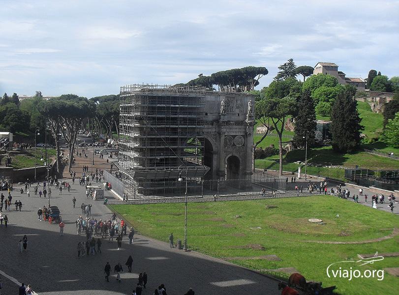Coliseo de Roma - Arco di Costantino