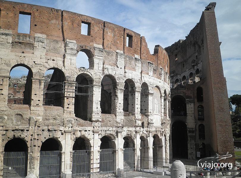 Coliseo Romano - Fachada