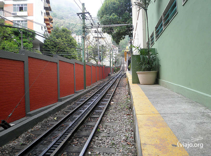 Tren de Corcovado - Recorrido