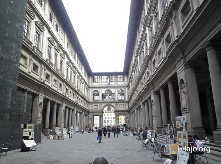 Florencia - Galleria degli Uffizi