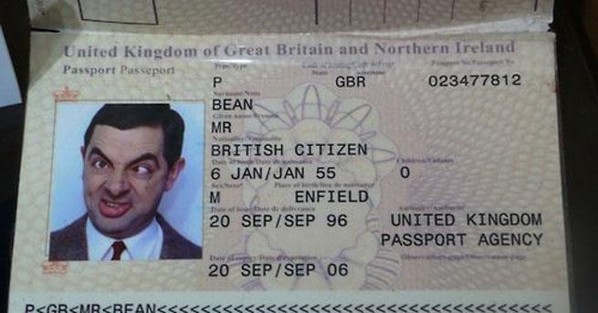 Pasaporte Mr Beans
