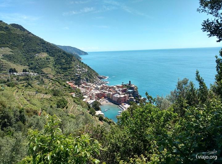 Vista desde el sendero Monterosso al Mare - Vernazza