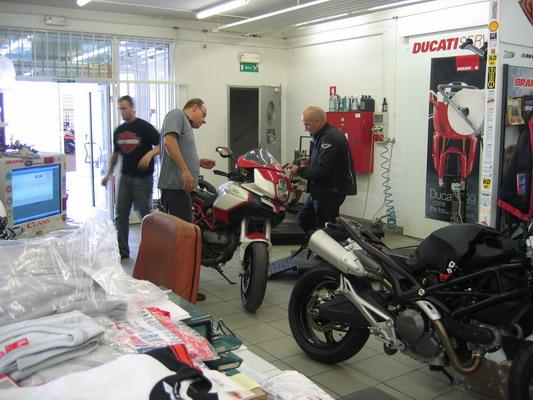 Taller Ducati
