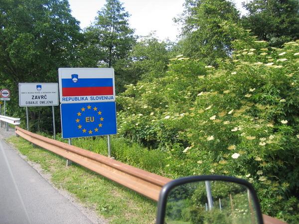 Frontera de Eslovenia