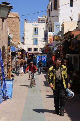 Paseo en Essaouira
